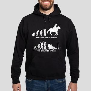 Horse Riding Hoodie (dark)