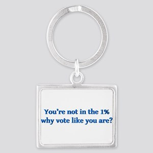 You're Not In The 1%, Why Vote Landscape Keych