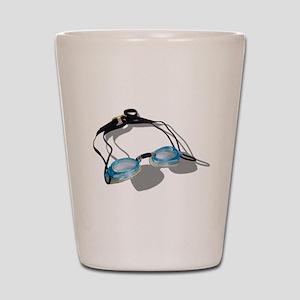 SwimmingGoggles091210 Shot Glass