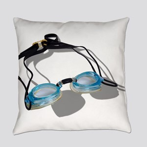 SwimmingGoggles091210 Everyday Pillow