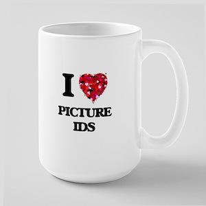 I Love Picture Ids Mugs