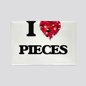 I Love Pieces Magnets
