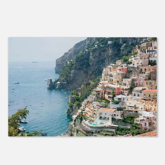 Italy - Amalfi Coastline  Postcards (Package of 8)