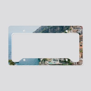 Italy - Amalfi Coastline  License Plate Holder