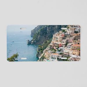 Italy - Amalfi Coastline  Aluminum License Plate