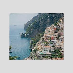 Italy - Amalfi Coastline  Throw Blanket