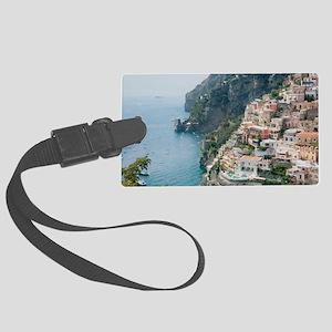 Italy - Amalfi Coastline  Large Luggage Tag