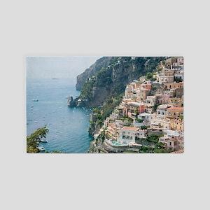 Italy - Amalfi Coastline  Area Rug