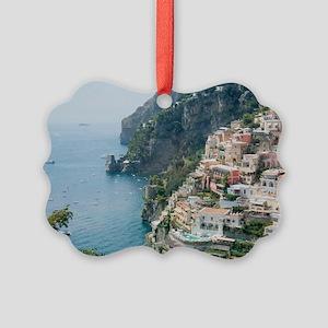 Italy - Amalfi Coastline  Picture Ornament