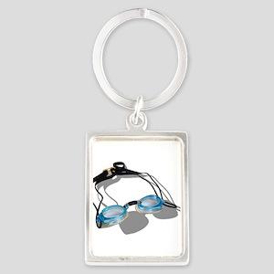 SwimmingGoggles091210 Keychains