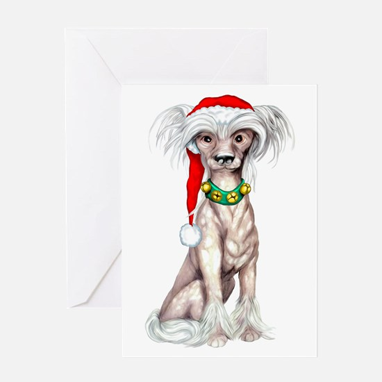 Cresty Claus Greeting Card
