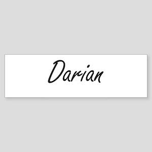 Darian Artistic Name Design Bumper Sticker