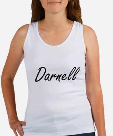 Darnell Artistic Name Design Tank Top