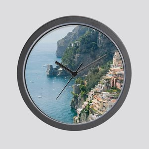 Amalfi Coastline Wall Clock
