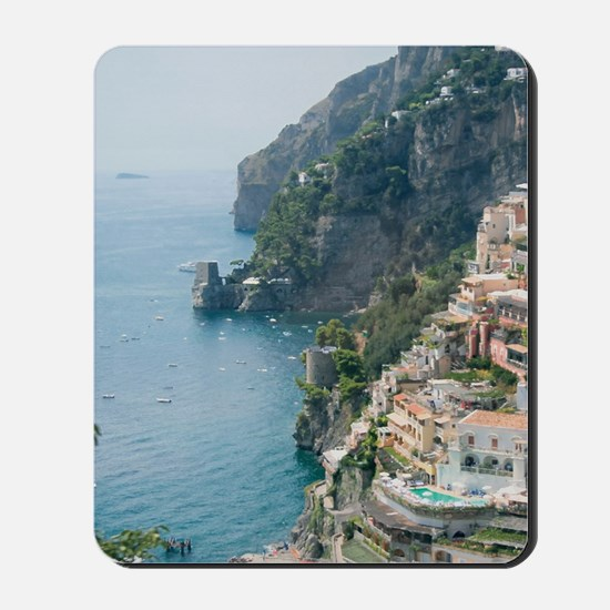 Amalfi Coastline Mousepad