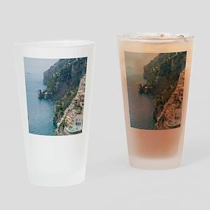 Amalfi Coastline Drinking Glass