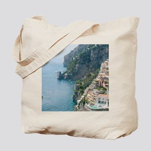 Amalfi Coastline Tote Bag