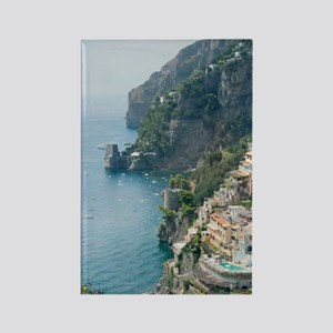 Amalfi Coastline Rectangle Magnet