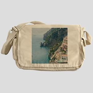 Amalfi Coastline Messenger Bag