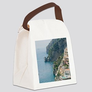 Amalfi Coastline Canvas Lunch Bag