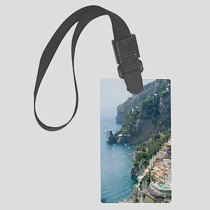 Amalfi Coastline Large Luggage Tag
