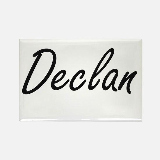 Declan Artistic Name Design Magnets