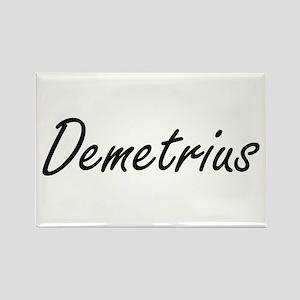 Demetrius Artistic Name Design Magnets