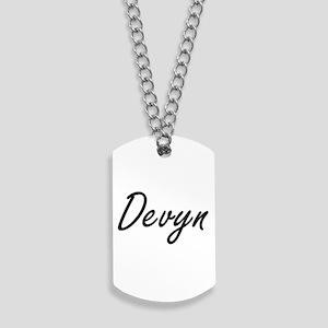 Devyn Artistic Name Design Dog Tags