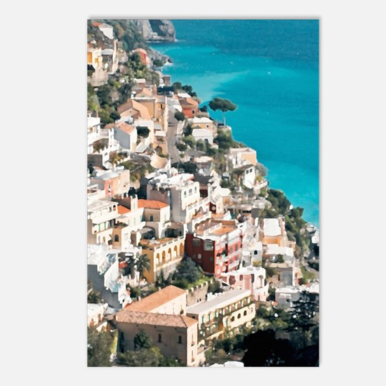 Amalfi Upside Postcards (Package of 8)