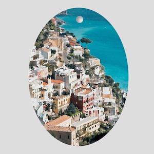 Amalfi Upside Oval Ornament