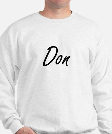 Don Artistic Name Design Sweatshirt