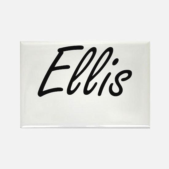 Ellis Artistic Name Design Magnets
