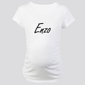 Enzo Artistic Name Design Maternity T-Shirt