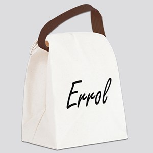 Errol Artistic Name Design Canvas Lunch Bag