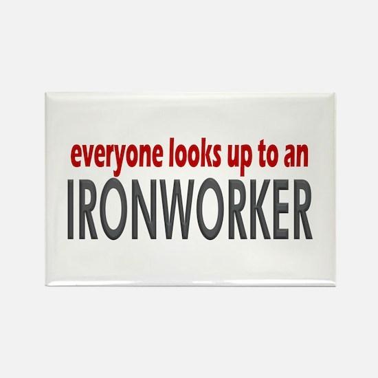Ironworker Rectangle Magnet