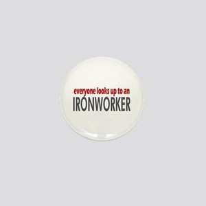 Ironworker Mini Button