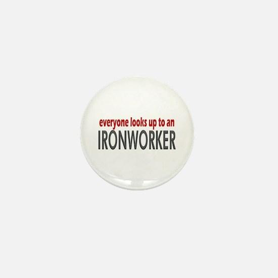 Ironworker Mini Button