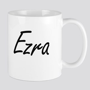 Ezra Artistic Name Design Mugs