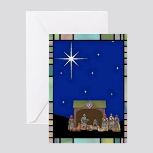 NATIVITY GREETING CARDS Greeting Card