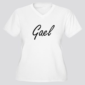 Gael Artistic Name Design Plus Size T-Shirt