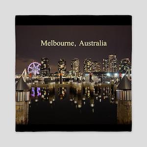 Personalisable Melbourne Australia Vic Queen Duvet