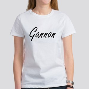 Gannon Artistic Name Design T-Shirt