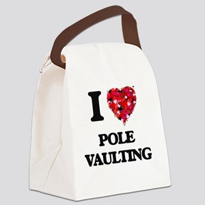 I Love Pole Vaulting Canvas Lunch Bag