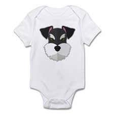 Cartoon Schnauzer Infant Bodysuit