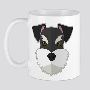 Cartoon Schnauzer Mug