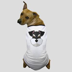 Cartoon Schnauzer Dog T-Shirt