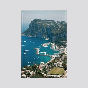 Italy, Capri  Rectangle Magnet