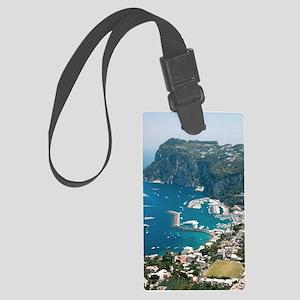 Italy, Capri  Large Luggage Tag