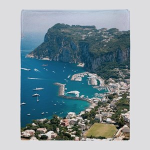 Italy, Capri  Throw Blanket