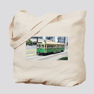 Melbourne Australia Tram Tote Bag